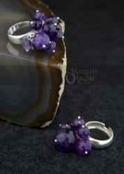Ametisto žiedas