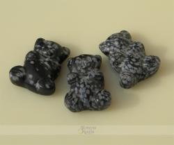 Snaiginio obsidiano meškučiai